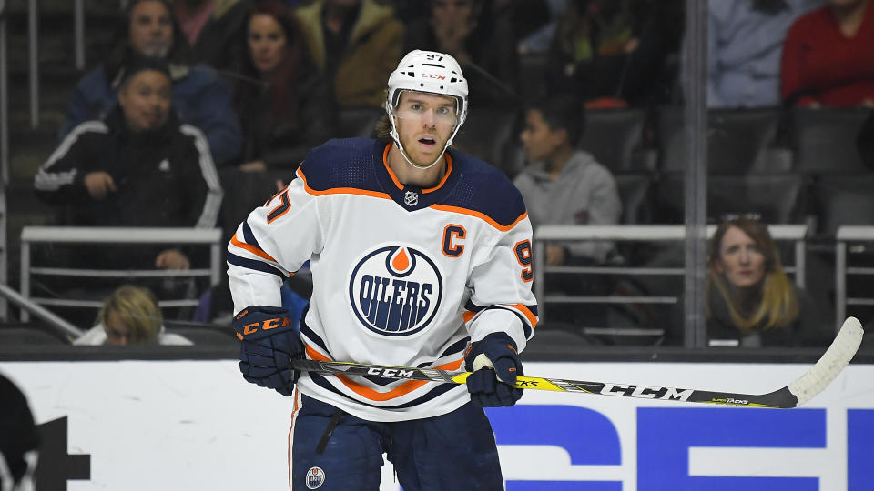 Edmonton Oilers center Connor McDavid