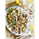 """<p>Packed full of protein and fibre to keep you feeling fuller for longer</p><p><strong>Recipe: <a href=""""https://www.goodhousekeeping.com/uk/food/recipes/a554954/halloumi-and-aubergine-salad/"""" rel=""""nofollow noopener"""" target=""""_blank"""" data-ylk=""""slk:Halloumi and aubergine salad"""" class=""""link rapid-noclick-resp"""">Halloumi and aubergine salad</a></strong></p>"""