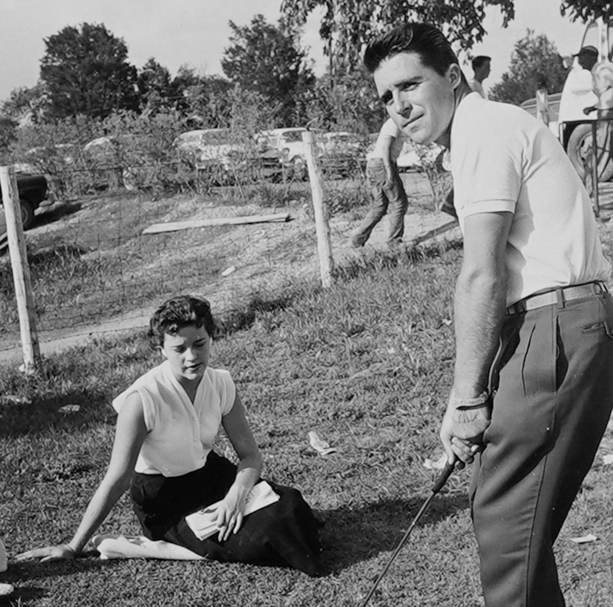 Gary Player and Vivienne Player