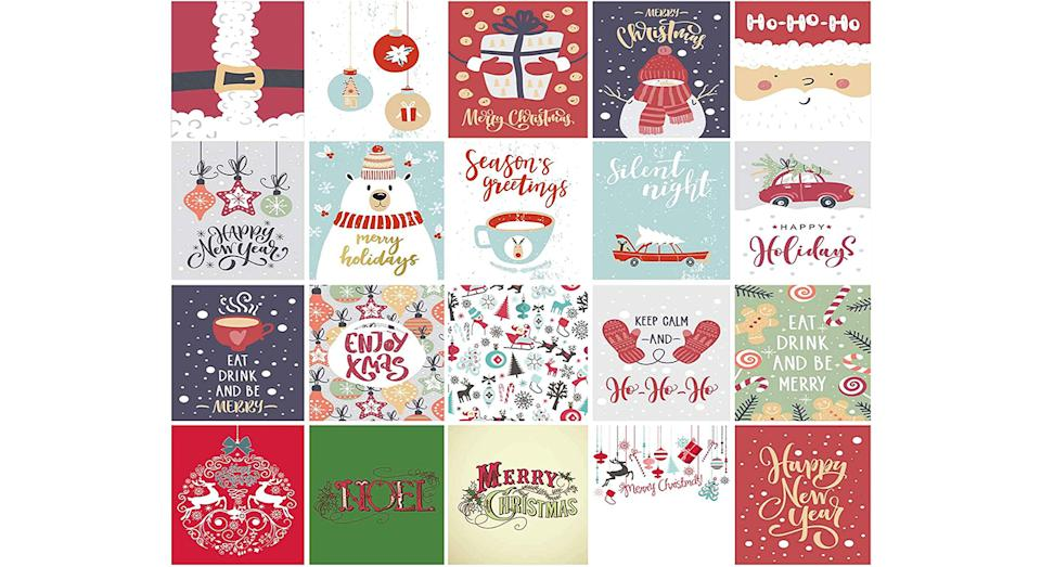 Christmas Cards Pack of 20 Eco-Friendly Cards