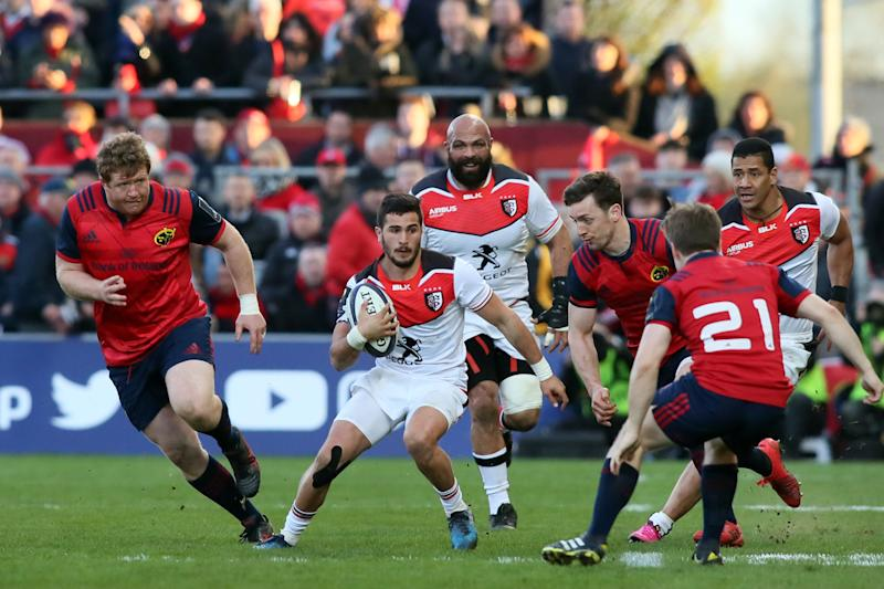 RugbyUnion - Leinster and Munster win Champions quarter-finals