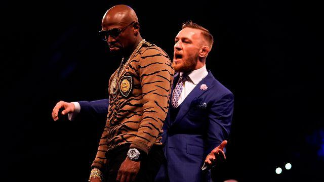 McGregor has rattled Mayweather. Pic: Getty