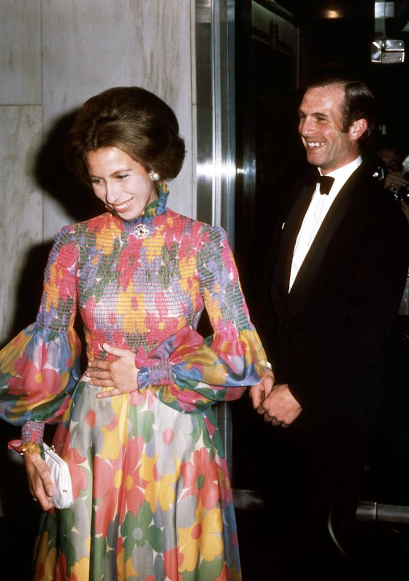 Princess Anne and Mark Phillips in 1973 (Getty Images)