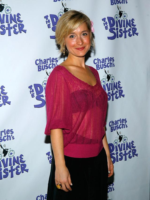 Actress Allison Mack in 2010. (Photo: Getty Images)