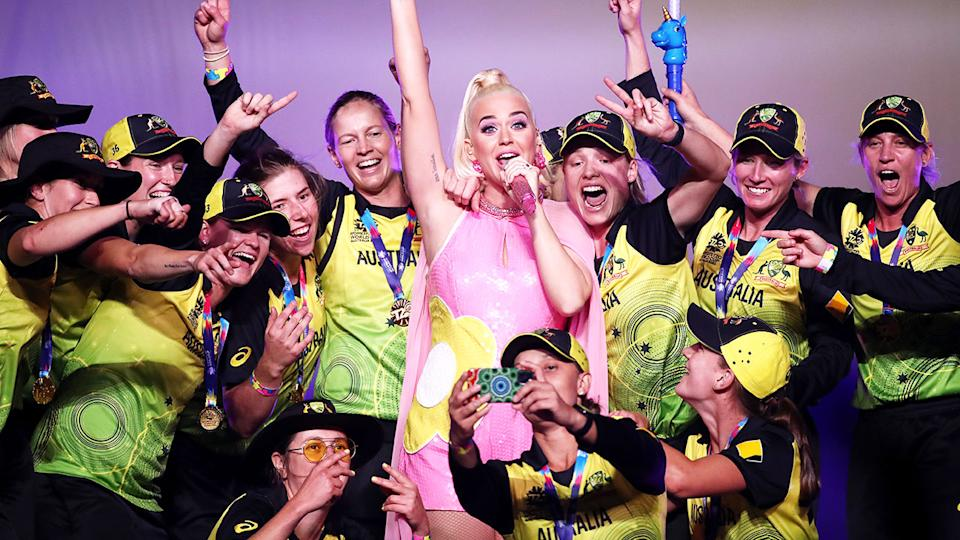 Australia's victory in the 2020 Women's T20 World Cup was a landmark moment for the game. Pic: Getty