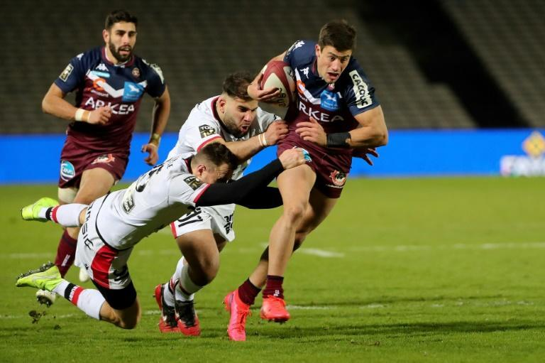 Argentina winger Bautista Delguy joined Bordeaux-Begles in December after The Rugby Championship