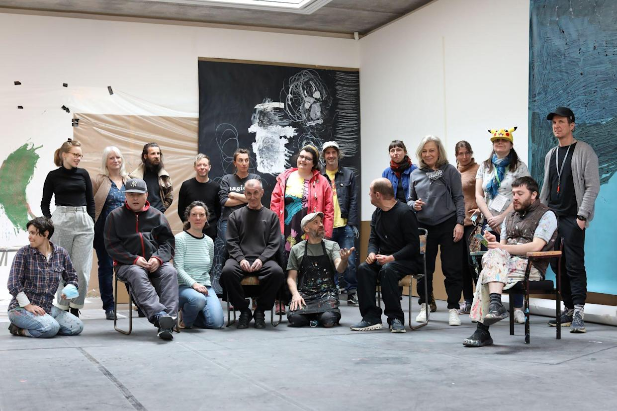 Part of the Project Art Works Collective at the Hastings Contemporary (Project Art Works)