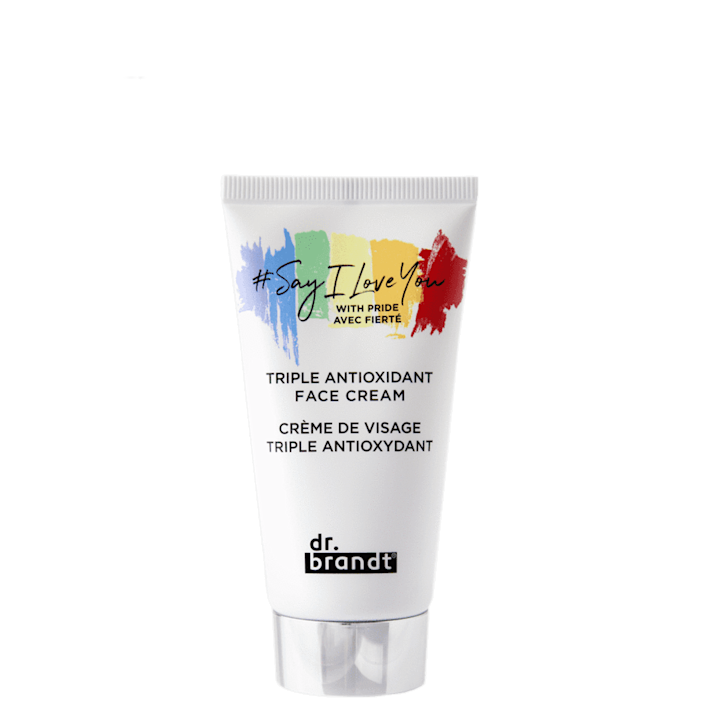 <p>In collaboration with Miami Beach Pride, the <span>Dr. Brandt Triple Antioxidant Face Cream</span> ($64) is the perfect daytime moisturizer to protect your skin against free radicals. A portion of sales will be donated to Miami Beach Pride's newly established scholarship program.</p>