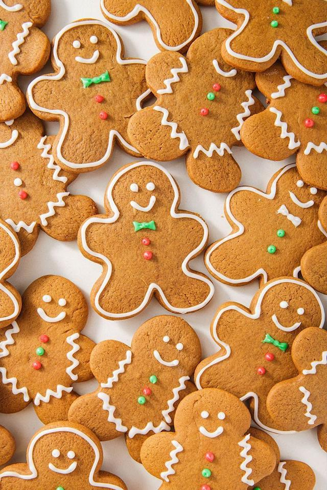 """<p>Whether or not you actually like gingerbread cookies is kinda irrelevant. You make them every single year because they make people happy. And because they're so damn adorable. </p><p>Get the <a href=""""https://www.delish.com/uk/cooking/recipes/a29067732/gingerbread-cookies-recipe/"""" target=""""_blank"""">Gingerbread Cookies</a> recipe.</p>"""