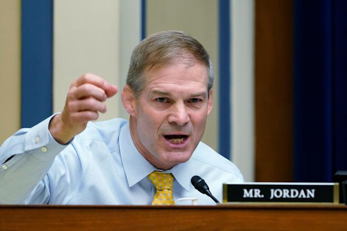 Republican Rep. Jim Jordan of Ohio was swiftly rejected by House Speaker Nancy Pelosi as a panelist for her select committee to investigate the Jan. 6 attack on the Capitol.