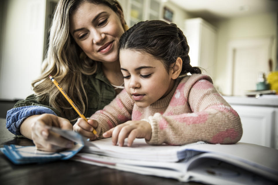 Teachers have provided their best tips to help parents home school during coronavirus. (Getty Images)