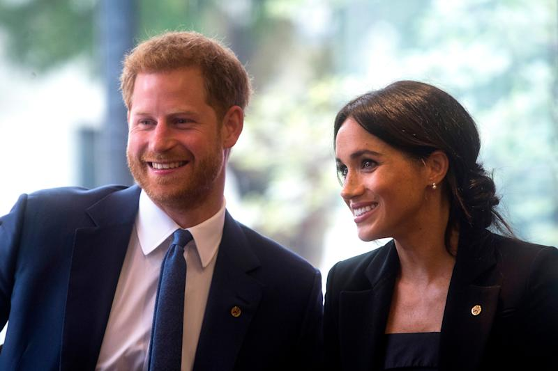 Tanto Harry como Meghan intentan cuidar el medio ambiente. [Foto: Getty]