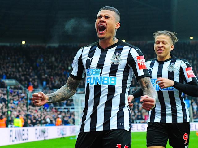 Kenedy at the double as Newcastle ease their relegation fears with morale-boosting win over Southampton