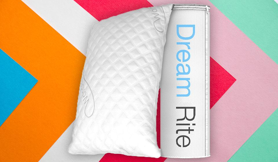 This top-rated pillow could be the bedmate of your dreams. (Photo: Amazon)