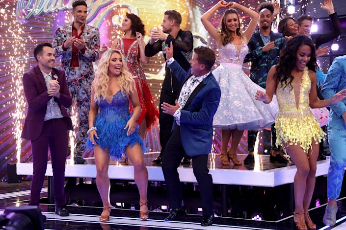 The class of Strictly Come Dancing 2019 (Mike Marsland/WireImage)