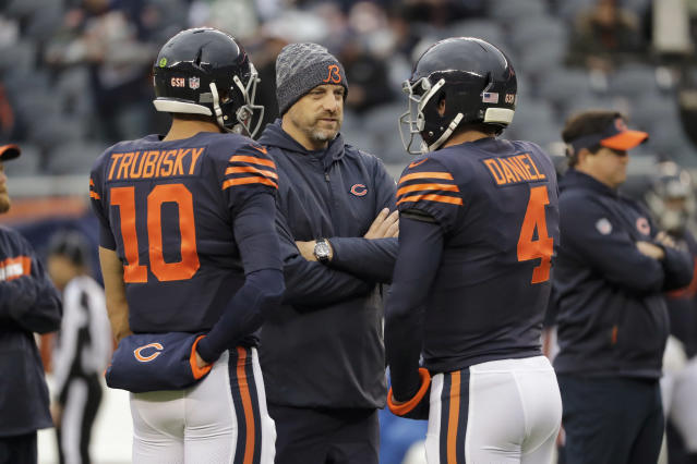 Can you trust Chase Daniel as an alternative in the fantasy playoffs if Mitchell Trubisky has to miss time? (AP Photo/Nam Y. Huh)