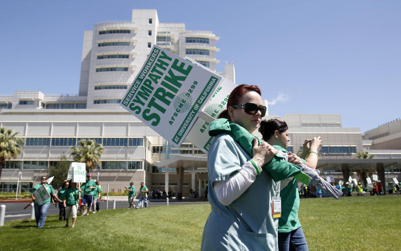 2-day worker walkout ends at UC hospitals