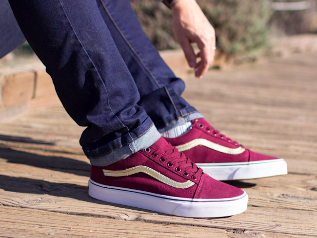 3d8e8c8ae5 One of Vans  classic skater shoes is suddenly blowing up the fashion ...