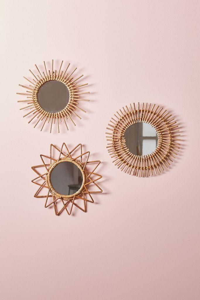 """<p><strong>Urban Outfitters</strong></p><p>urbanoutfitters.com</p><p><strong>$24.00</strong></p><p><a href=""""https://go.redirectingat.com?id=74968X1596630&url=https%3A%2F%2Fwww.urbanoutfitters.com%2Fshop%2Fmagical-thinking-woven-wall-mirror&sref=https%3A%2F%2Fwww.womenshealthmag.com%2Flife%2Fg33822690%2Fcheap-christmas-gifts%2F"""" rel=""""nofollow noopener"""" target=""""_blank"""" data-ylk=""""slk:Shop Now"""" class=""""link rapid-noclick-resp"""">Shop Now</a></p><p>This woven small mirror looks waaay more expensive than it actually is. That makes it perfect for pleasing your super fancy aunt or your high-maintenance friend. </p>"""
