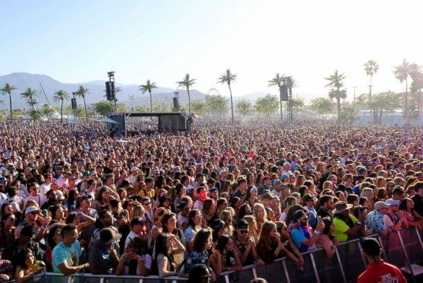 PHOTO: A view of the crowd during 2018 Coachella Valley Music And Arts Festival Weekend 1 at the Empire Polo Field on April 14, 2018, in Indio, Calif. (Frazer Harrison/Getty Images for Coachella)