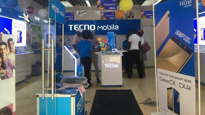 Transsion Holdings TECNO store in Kenya