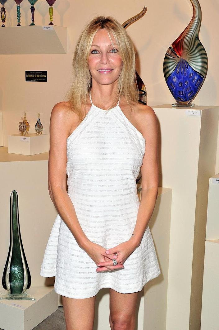 """Heather Locklear recently marked two and a half years of sobriety. <span class=""""copyright"""">Photo by Jerod Harris/WireImage/Getty Images</span>"""