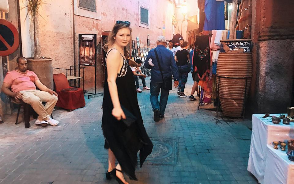On the Marrakech trip for which a friend would be charged $62,000 - Rachel Deloache Williams