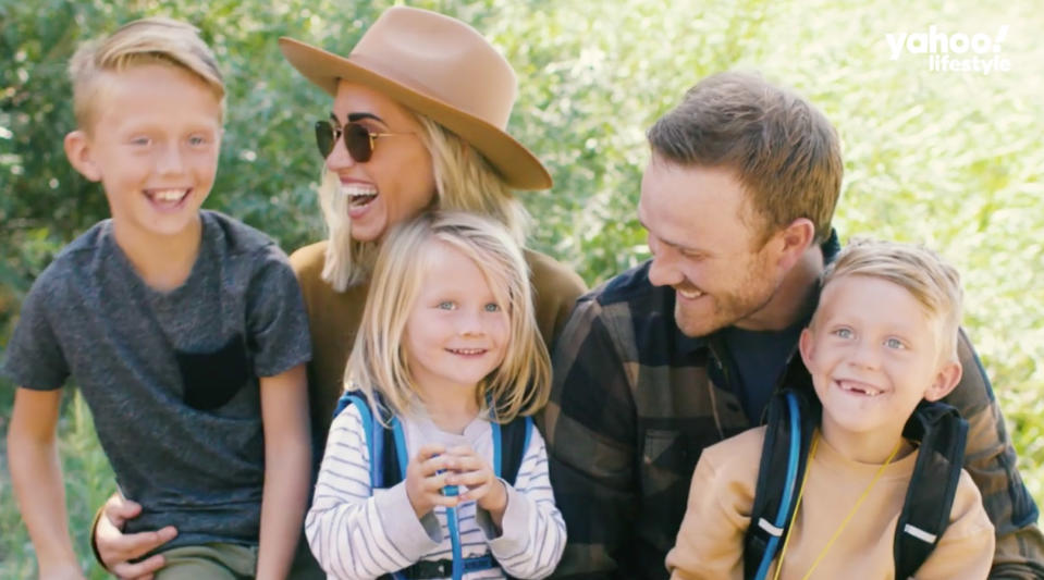 A family that connects with nature and disconnects from distractions is one happy family. (Photo: Yahoo Lifestyle)