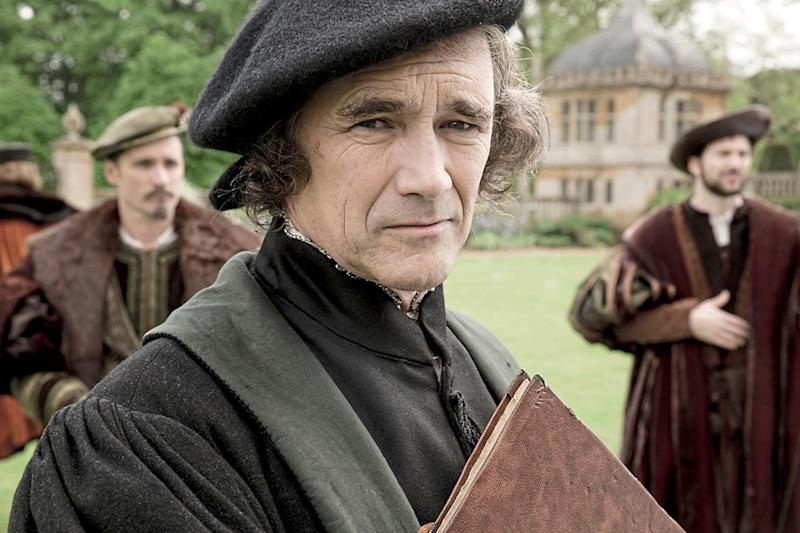 Eminence grise: Dominic Cummings is too flash to be Thomas Cromwell (played by Mark Rylance, pictured, in the BBC adaptation of Hilary Mantel's Wolf Hall) but his advice to the PM has caused bitterness among some ministers: BBC Pictures