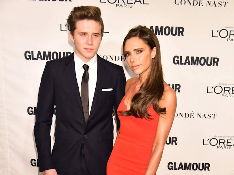 Victoria Beckham shares teary-eyed picture with Brooklyn as they celebrate his A-Level results