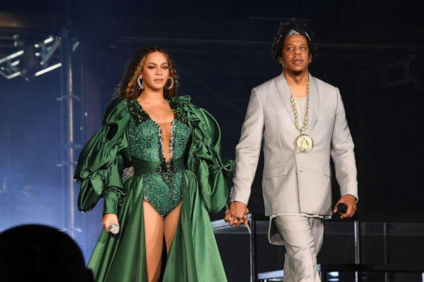 PHOTO: Beyonce and Jay-Z perform during, Dec. 2, 2018 in Johannesburg, South Africa. (Kevin Mazur/Getty Images, FILE)