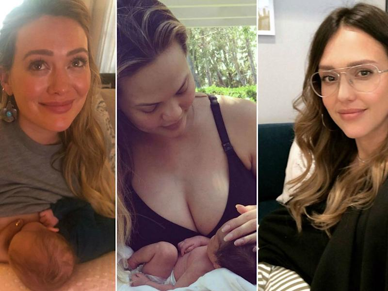 12 Times Celebrity Moms Got Real About Breastfeeding