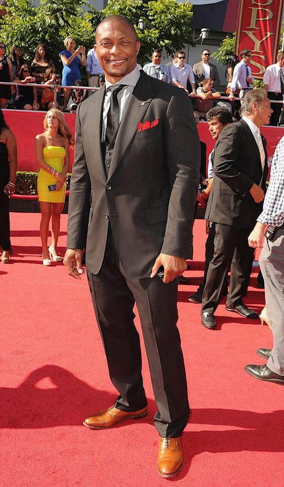 Former NFL player Eddie George arrives at the 2012 ESPY Awards.
