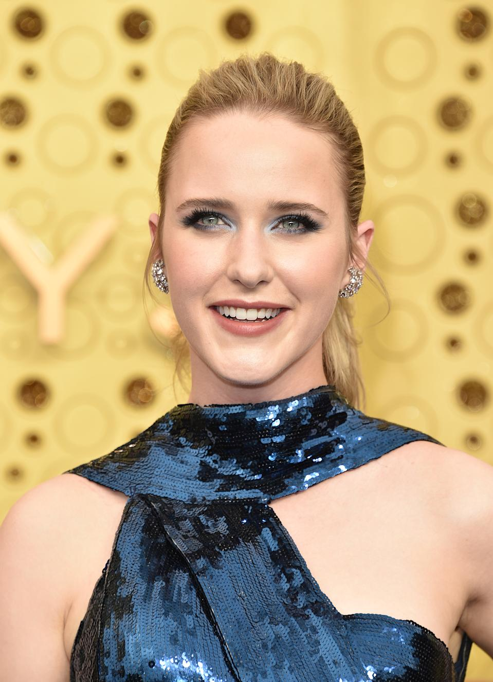 LOS ANGELES, CALIFORNIA - SEPTEMBER 22:  Rachel Brosnahan attends the 71st Emmy Awards at Microsoft Theater on September 22, 2019 in Los Angeles, California. (Photo by John Shearer/Getty Images)