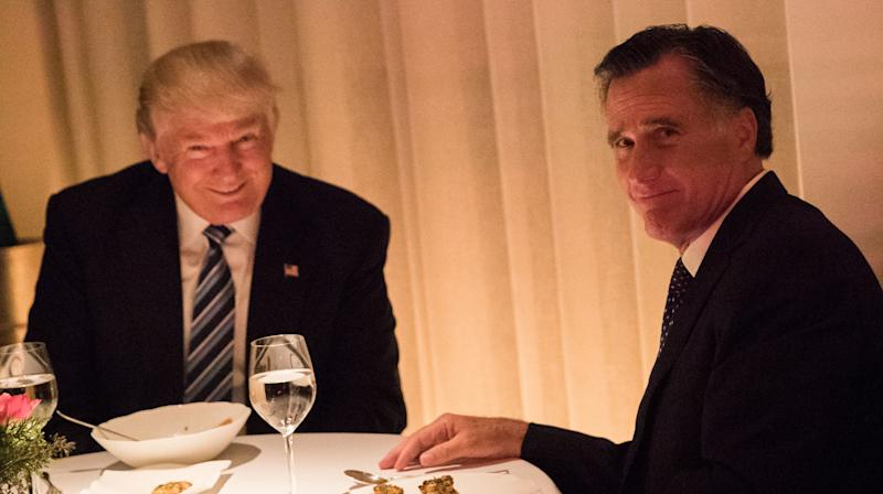 'Suck Up' Mitt Romney Is Called Out ForFlip-Flopping On Trump's Endorsement