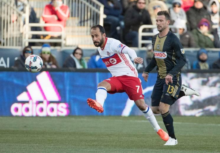 Toronto FC settles for draw in Philadelphia as temperatures plunge below freezing along east coast