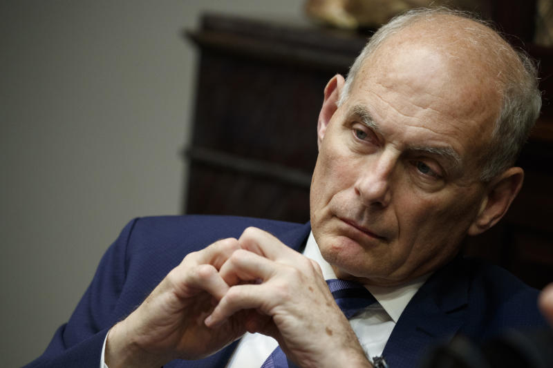White House hits back at John Kelly over impeachment remarks