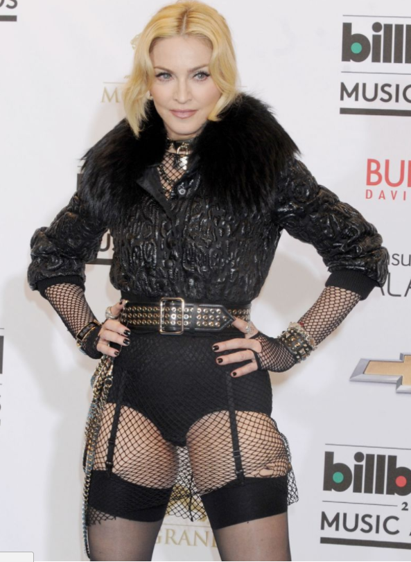 Madonna has been raising eyebrows with her antics for years. Source: Getty