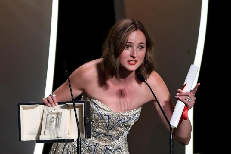Reinsve gave a tearful speech in which she praised director Joachim Trier for 'making it easy'.