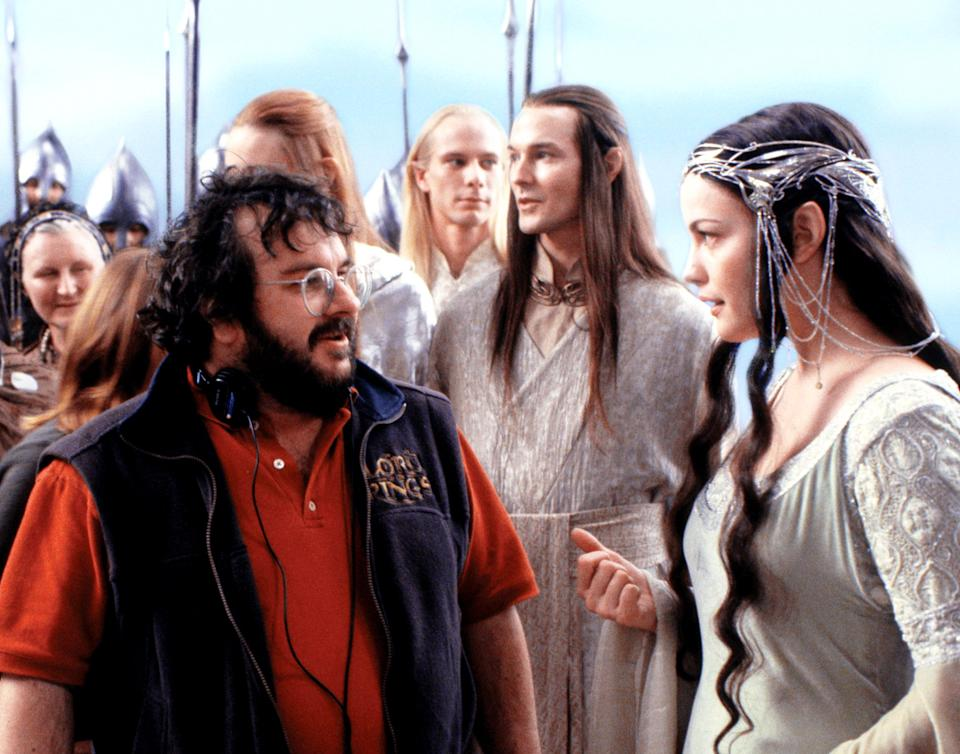 Peter Jackson directing Liv Tyler on the set of <em>The Return of the King</em>. (Photo: New Line/courtesy Everett Collection)