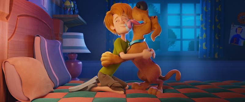 A still from the new Scooby Doo film <i>Scoob!</i> (Warner Bros)