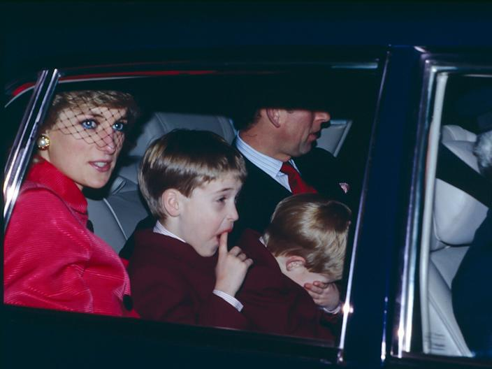 Princess Diana Prince Charles December 1988