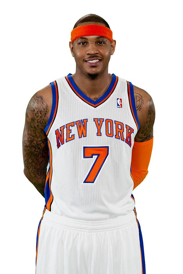 """NBA superstar Carmelo Anthony of the New York Knicks appears as himself in """"Personal Fouls."""""""
