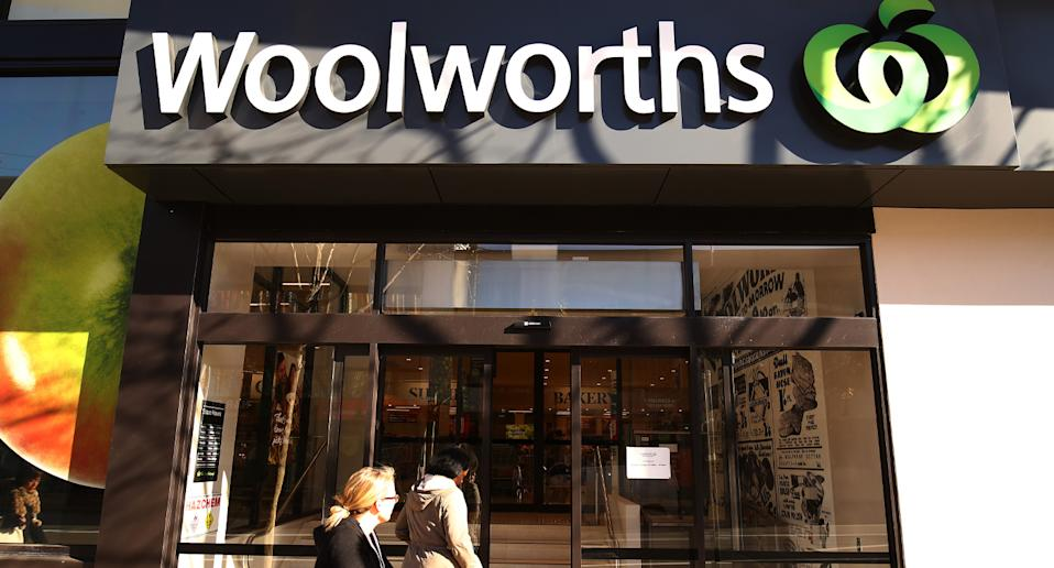 Woolworths store after bread rolls are recalled from Calwell supermarket in the ACT.