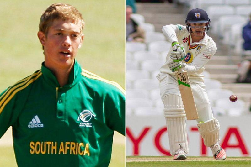 Jennings played U-19 cricket for his country of birth- South Africa