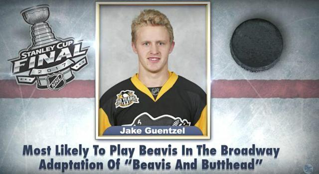 Jimmy Fallon took shots at NHL players with another round of Stanley Cup Superlatives. (NBC/The Tonight Show Starring Jimmy Fallon)