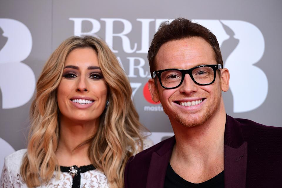 Stacey Solomon and Joe Swash's son had to have stitches. (Getty)