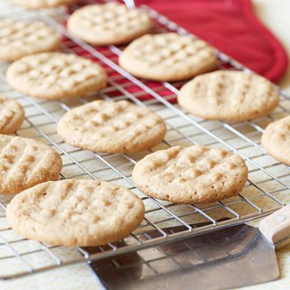"""<p><strong>Recipe: <a href=""""https://www.southernliving.com/recipes/easy-peanut-butter-cookies"""">Easiest Peanut Butter Cookies</a></strong></p> <p>Start the month off right with these 4-ingredient cookies that surely won't last long on your counter. Get the kids involved and you'll have a batch of flour-free ready cookies in just 35 minutes!</p>"""