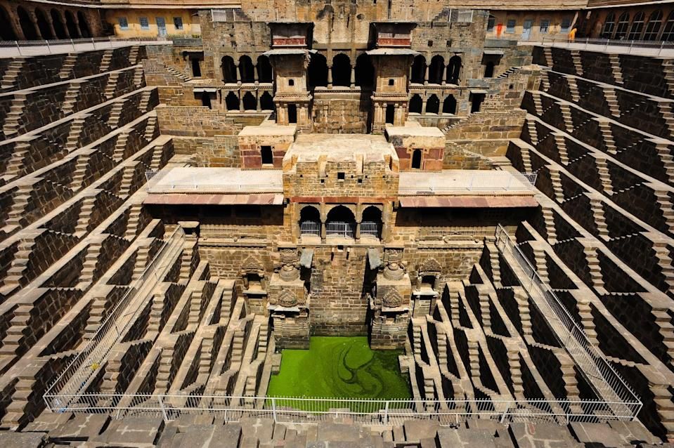 <p>With 3,500 narrow steps, it's one of the biggest stepwells in the world. </p>