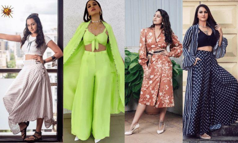 5 Looks Of Sonakshi Sinha From Khandaani Shafakhana Promotions That Raised The Bar For Fashion!